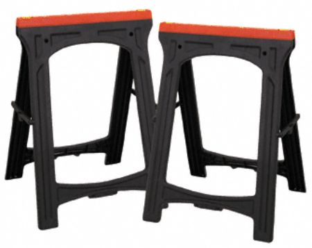 Cheap Tools Plastic Sawhorses From Harbor Freight