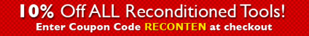 10% off Skill Reconditioned Tools