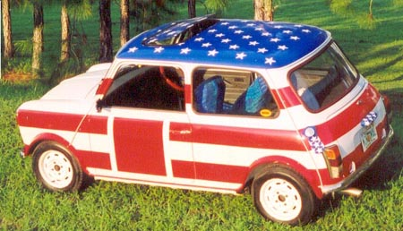 Stars and Stripes Austin Mini