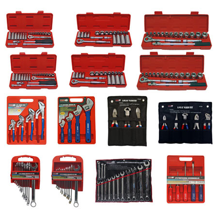 Grip 177 pc Professional Complete Hand Tool Set
