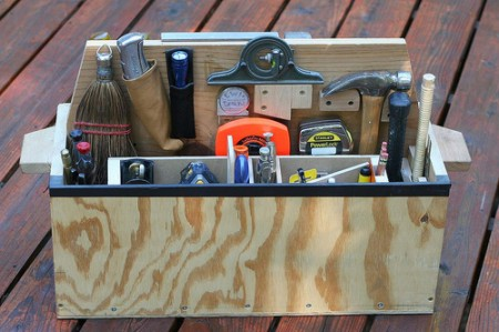wood project ideas buy homemade wood tool box