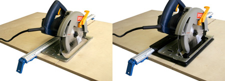 All in one clamp a-36 36-inch grip clamp guide with t-track edge.