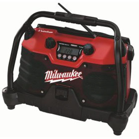 Milwaukee 49-24-0280 V28 28-Volt Lithium-Ion Job Site Radio