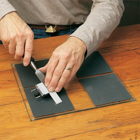 Rocklers Plate Glass Sharpening System