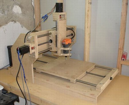 Homemade cnc machine plans