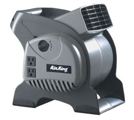 Air King 3-Speed Pivoting Utility Blower with Grounded Outlets