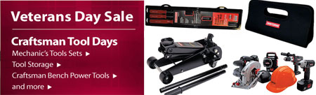Sears Verterens Day Sale