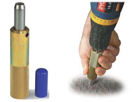 Cable Prep 4375 Carpet Cutter and Drill Guide