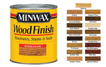minwax oil stain is a regular in the stain aisle at the local big box ...