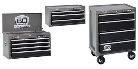 Craftsman 13 Drawer, 26 in. Ball-Bearing Combo, 80th Anniversary