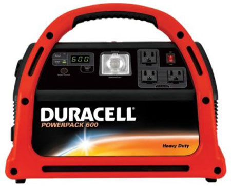 Duracell DPP-600HD Powerpack 600