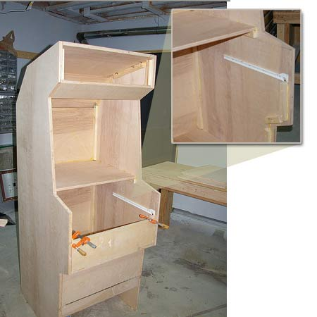 From the Flickr Pool: Stand-Up Game Cabinet | Toolmonger