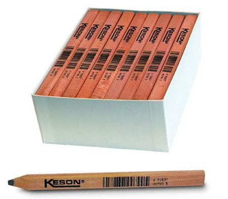 Kelson 72-Pack Industrial Grade Carpenters Pencils