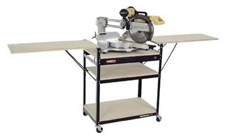 Rousseau 2850 Shop Style Miter Saw Stand Kit
