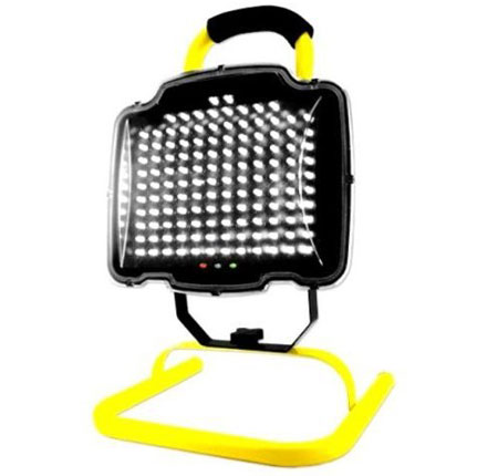 Ultra-Bright 130 LED Rechargeable Cordless Work Flood Light with Stand