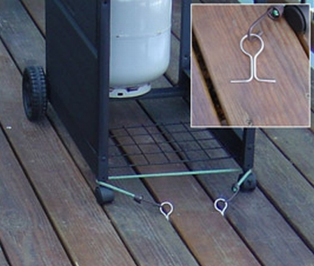If A Windstorm Has Ever Tered Your Deck Furniture Across The Neighborhood Tiedowns From Bi Innovations Could Save You Lot Of Grief