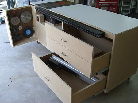 Diy Rolling Table Saw Cabinet Plans Plans Free