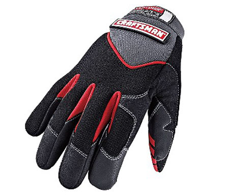 Craftsman Black Mechanics Gloves