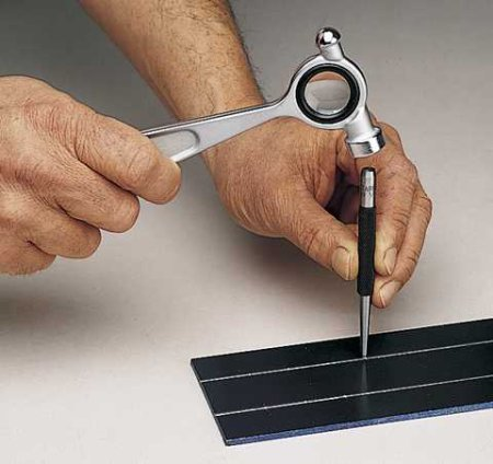 Toolmakers' Hammer with Magnifying Lens