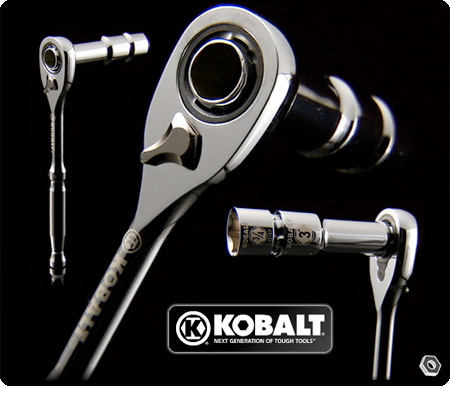 Kobalt S Thru Ratchet Gets Over Long Bolts Toolmonger