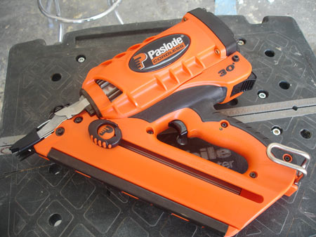 hands on paslode cf 325 cordless framing nailer