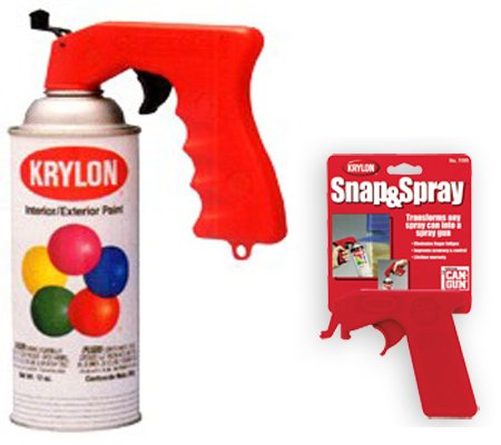 turn your spray can into a spray gun toolmonger. Black Bedroom Furniture Sets. Home Design Ideas