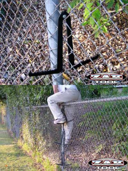 Climb Chain Link Fences The Easy Way Toolmonger