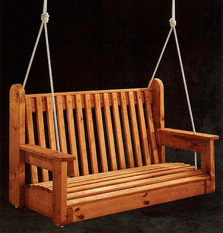 Simple porch swing frame plans woodworktips for Easy porch swing