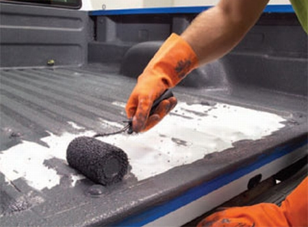 hot or not? do-it-yourself truck-bed liner | toolmonger