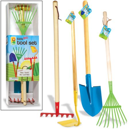 Hot or not kids garden tools toolmonger for Gardening tools toddlers