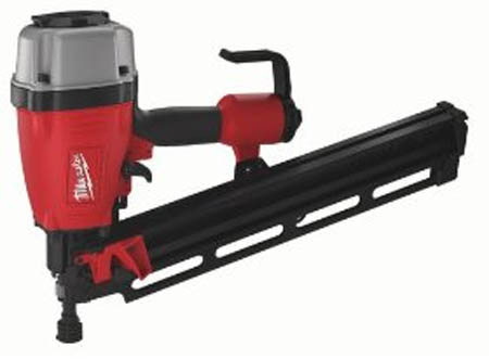 Milwaukee 7100-20 Round Head 2-Inch to 3-1/2-Inch Framing Nailer
