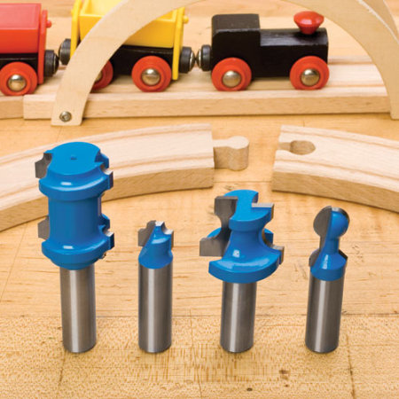 Make Your Own Wooden Train Track | Toolmonger