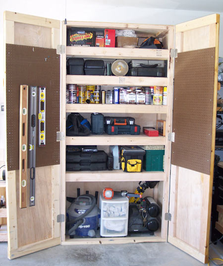 Projects: Shop Storage Cabinet | Toolmonger