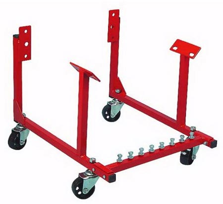 Engine cradle plans autos post for Outboard motor dolly harbor freight