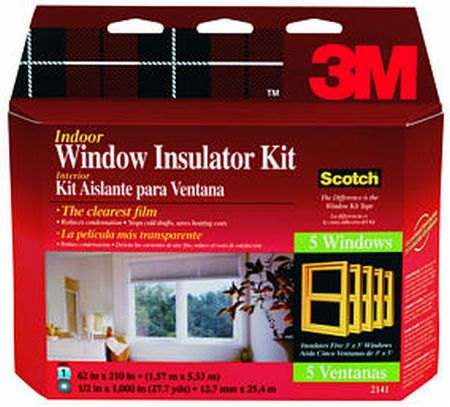 Quick window insulation toolmonger for Window insulation kit
