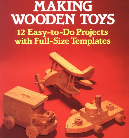 Wooden-Toy-Making Book
