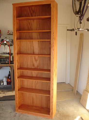 How To Build A Custom Oak Bookcase Toolmonger Page 3