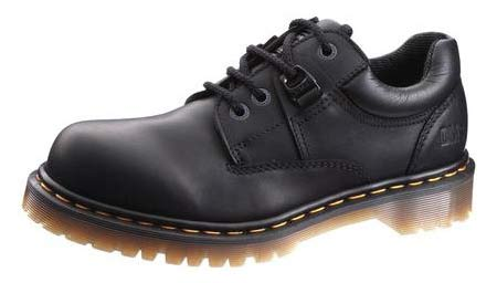 Onlineshoes.com is selling these Dr. Martens oxford steel-toed shoes for $80. I've been wearing this style for the past ten years or so, and my second pair