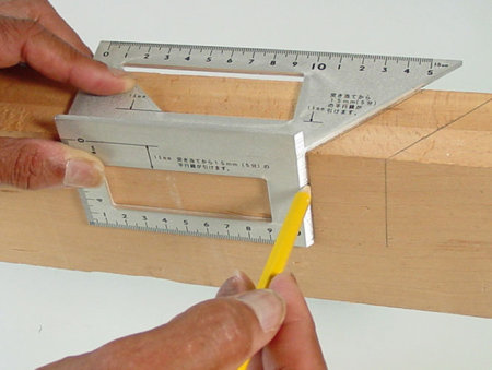 Japanese woodworking squares