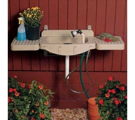 Outdoor Laundry Sink : Wash Up Outside Toolmonger