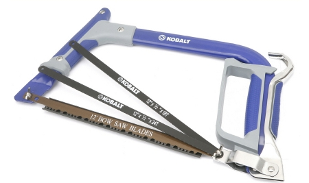 Dealmonger kobalt bowhack saw combo for 10 toolmonger lowes has marked down this kobalt bowhack saw combo to 10 in preparation for fathers day the saw framell take any of kobalts 12 bow saw or hack saw greentooth Gallery