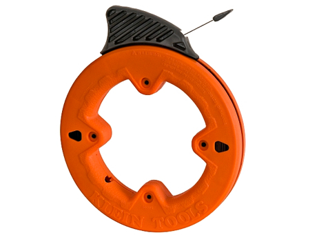 Klein depthfinder steel fish tape toolmonger for Steel fish tape