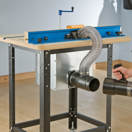 Plan Furniture Fine Woodworking Table Saw Dust Collection