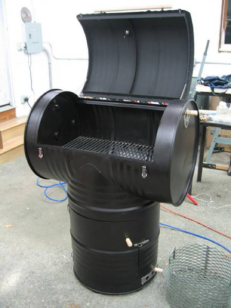 homemade smoker plans