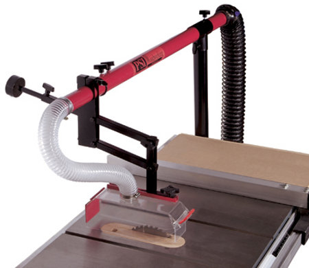 Table Saw Blade Guard And Dust Collector Toolmonger