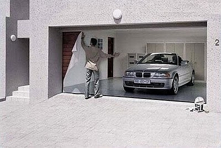 Garage Door Designs on Tarpaulins From The German Company Style Your Garage These Tarps Are