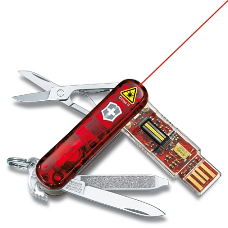 Swiss Army Knife With Laser Toolmonger