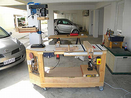How to build a workbench tips for beginners - Woodwork Garage Wood Workshop Ideas Pdf Plans