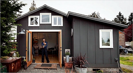 Garage Conversion Into Tiny House Toolmonger