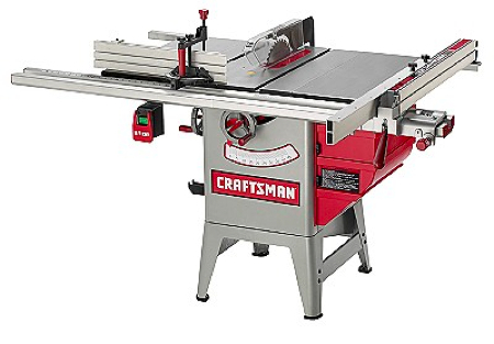 Modern Craftsman 10 Inch Table Saw, $799
